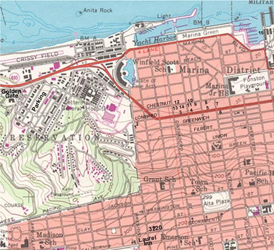 Sf Topo Map